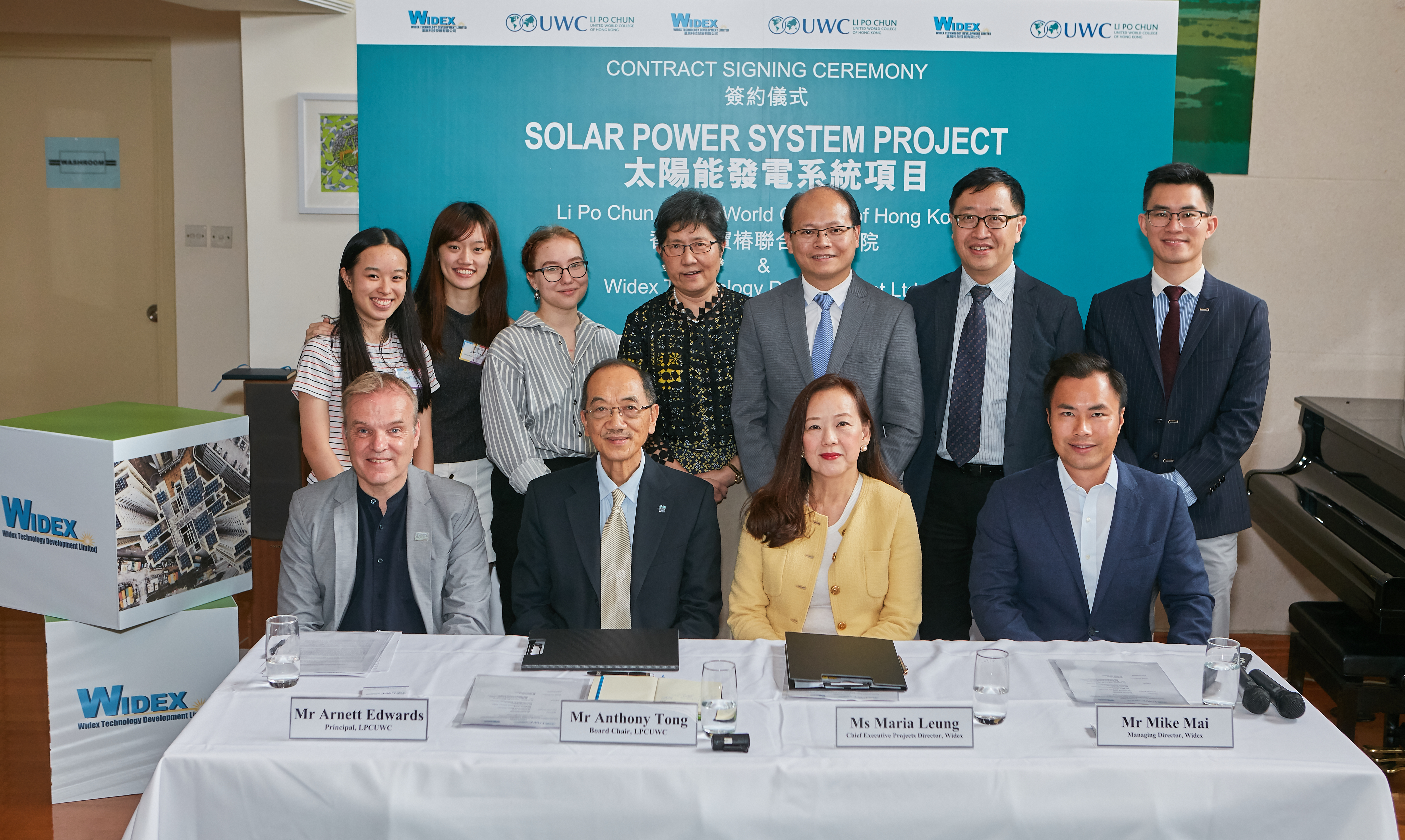 Solar Power System Project Signing and PressCon